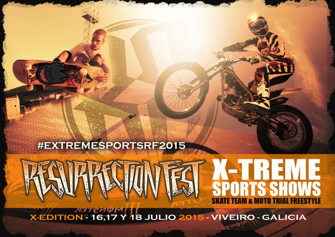 Deportes extremos y fiesta de presentación en el Resurrection Fest 2015