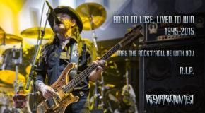 Motörhead – Directo en el Resurrection Fest 2015
