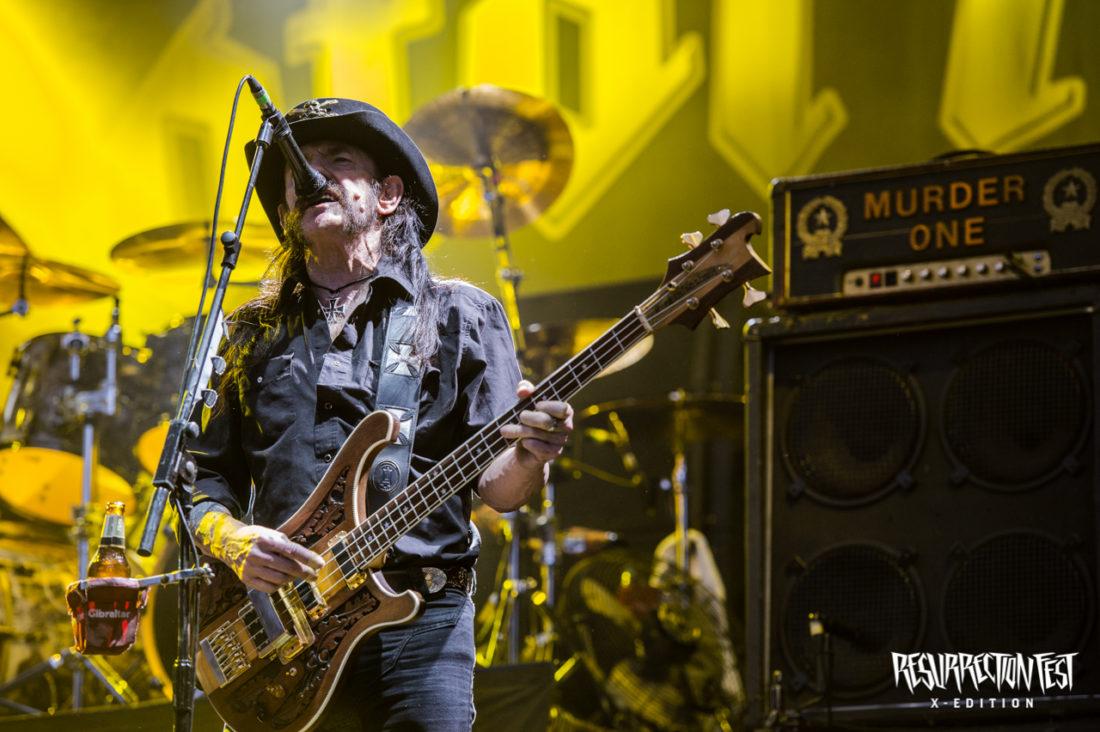 Vídeo homenaje de la última actuación de Motörhead en España en el Resurrection Fest 2015
