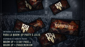 Tickets for the Warm-up Party of Resurrection Fest 2017 on sale