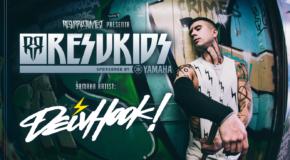 Primer artista Yamaha confirmado para las actuaciones con los ResuKids: Deivhook