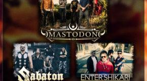Mastodon, Sabaton, Enter Shikari y muchos más se unen al Resurrection Fest 2017
