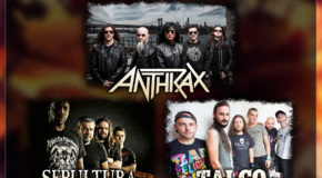 Anthrax, Sepultura, Talco and many others added to Resurrection Fest 2017