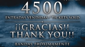THANK YOU! First 4500 tickets for Resurrection Fest 2017 sold-out in 3 hours