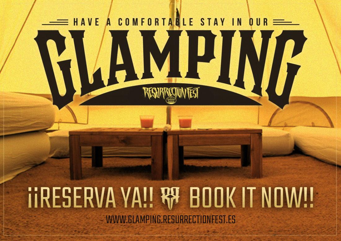 Glamping para o Resurrection Fest Estrella Galicia 2017 á venda