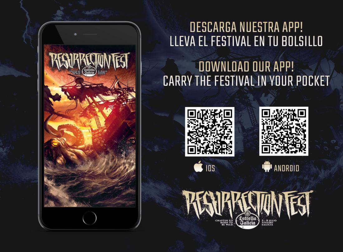 Disponibles las aplicaciones móviles oficiales del Resurrection Fest 2017