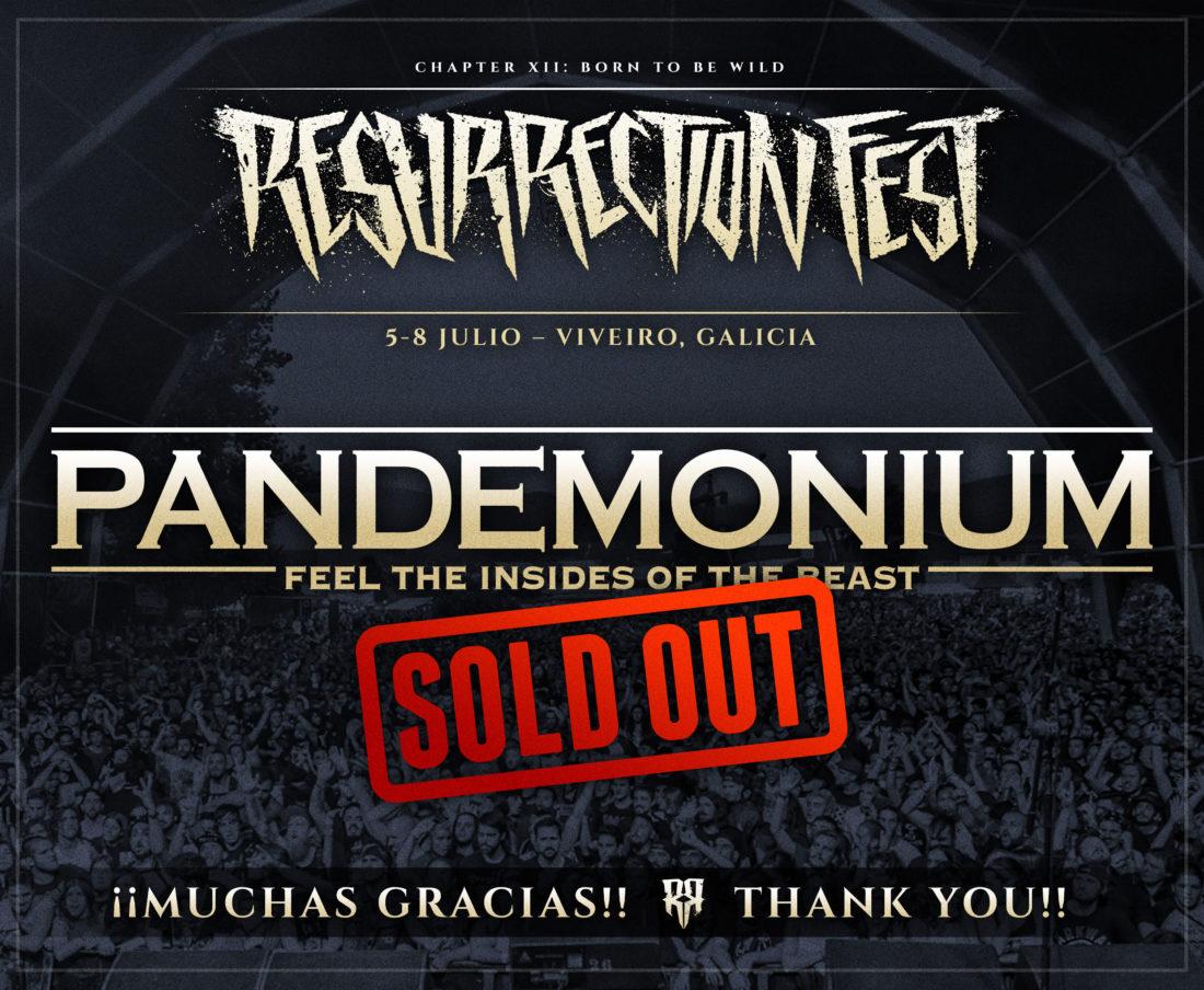 Entradas Pandemonium para o Resurrection Fest 2017 esgotadas