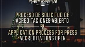 Press accreditations for Resurrection Fest Estrella Galicia 2017 available