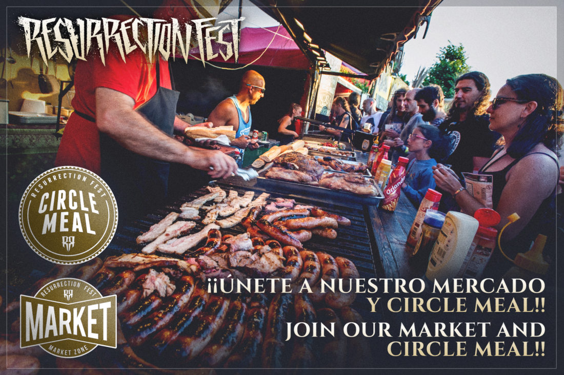 Abiertas inscripciones para el mercado y stands del Resurrection Fest 2017