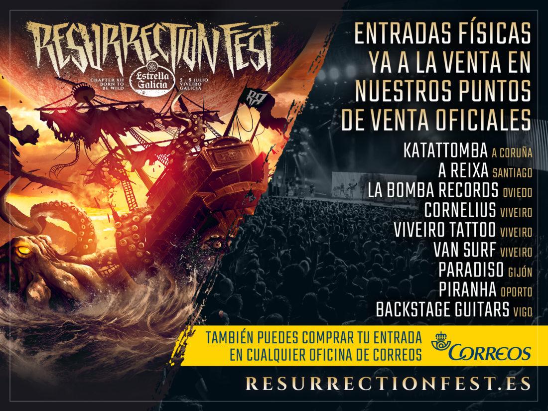 Más puntos físicos para comprar entradas del Resurrection Fest Estrella Galicia 2017