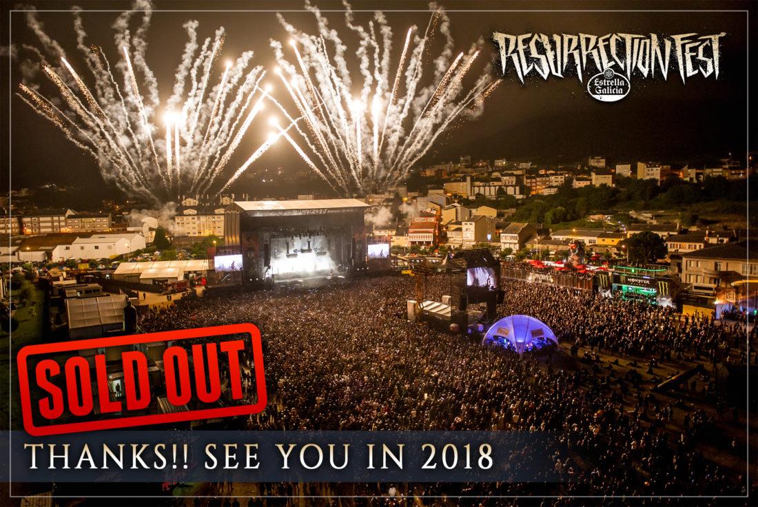 El Resurrection Fest Estrella Galicia 2017 ha finalizado, ¡muchas gracias!