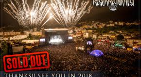 Resurrection Fest Estrella Galicia 2017 is over, thank you!