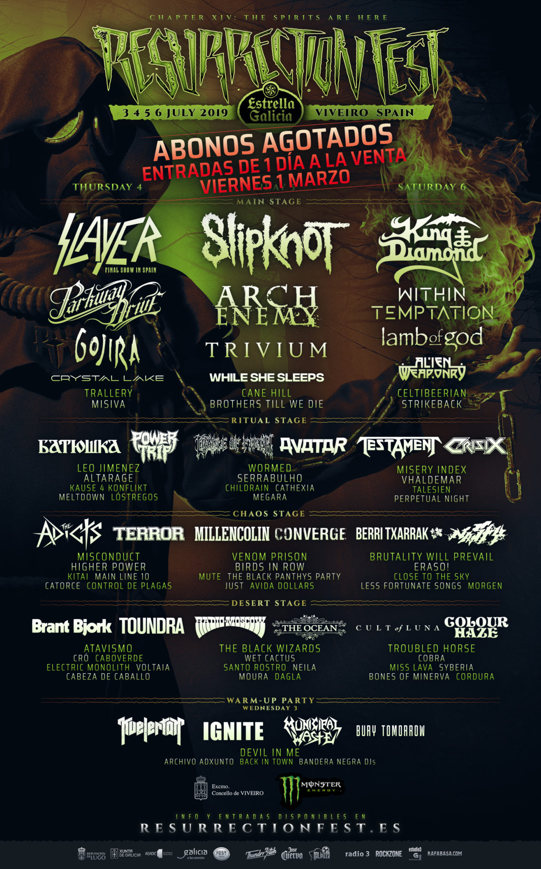 RESURRECTION FEST 2019 - Página 2 Resurrection-Fest-2019-Poster-Split-By-Days-1100x1766