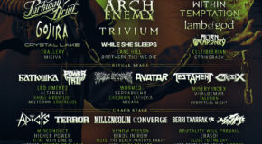 Poster Split By Days Of Resurrection Fest Estrella Galicia 2019