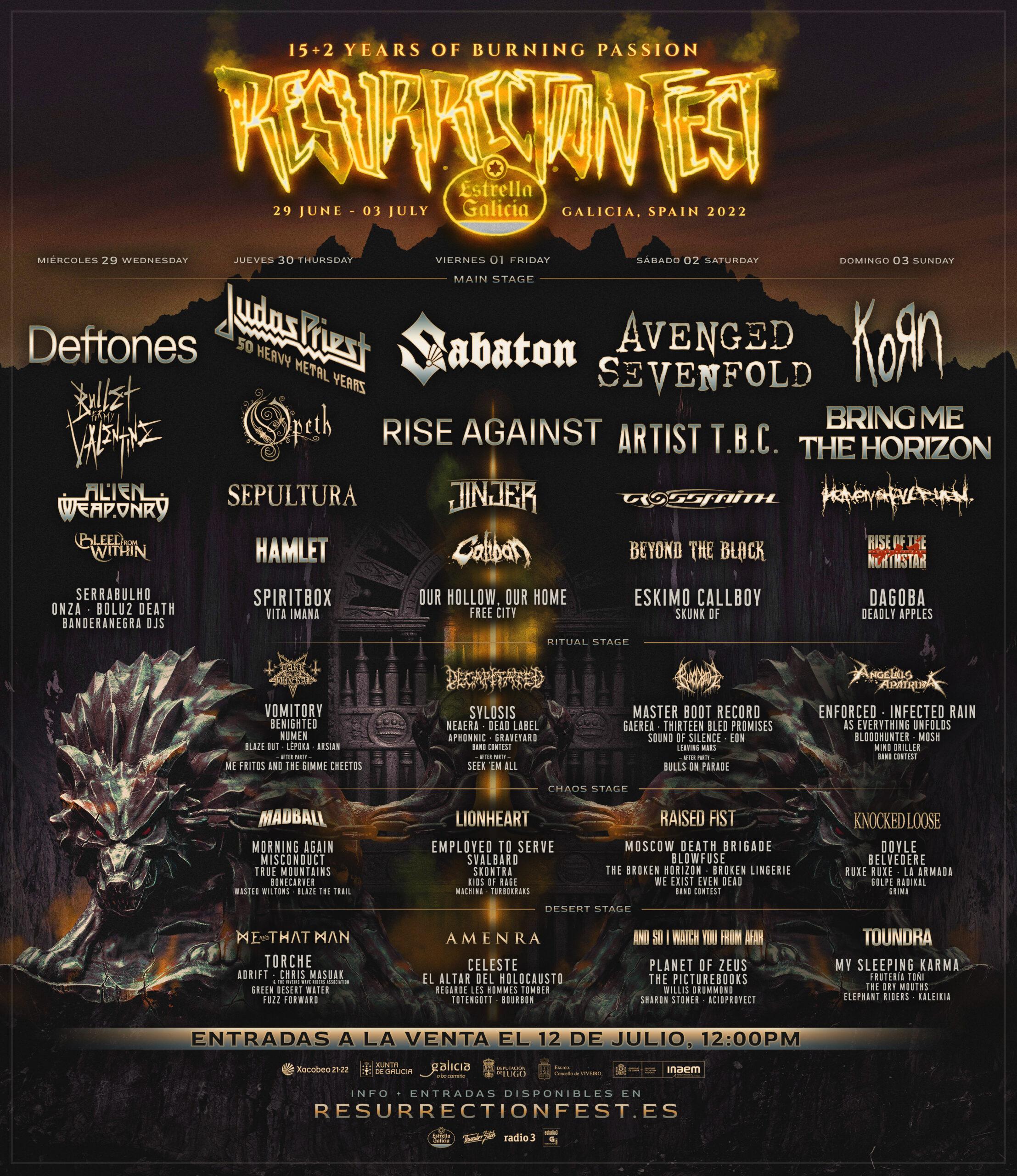 Agenda de giras, conciertos y festivales - Página 9 Resurrection-Fest-2022-Poster-1-scaled