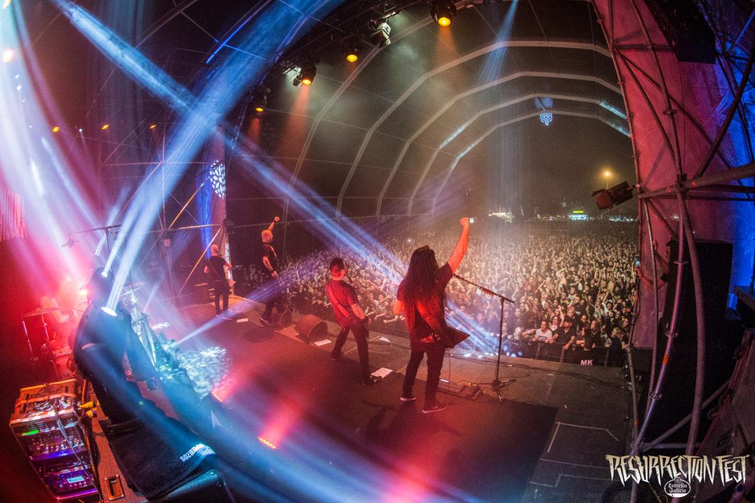 El Resurrection Fest Estrella Galicia agota todas sus entradas para su fiesta de presentación durante el primer día del festival