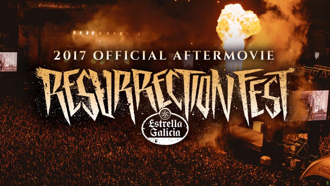 Fechas del Resurrection Fest Estrella Galicia 2018 y aftermovie oficial
