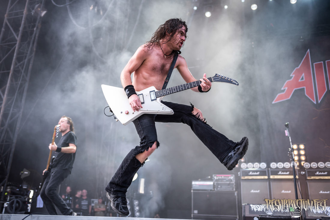 Interview with Airbourne at Resurrection Fest Estrella Galicia 2017