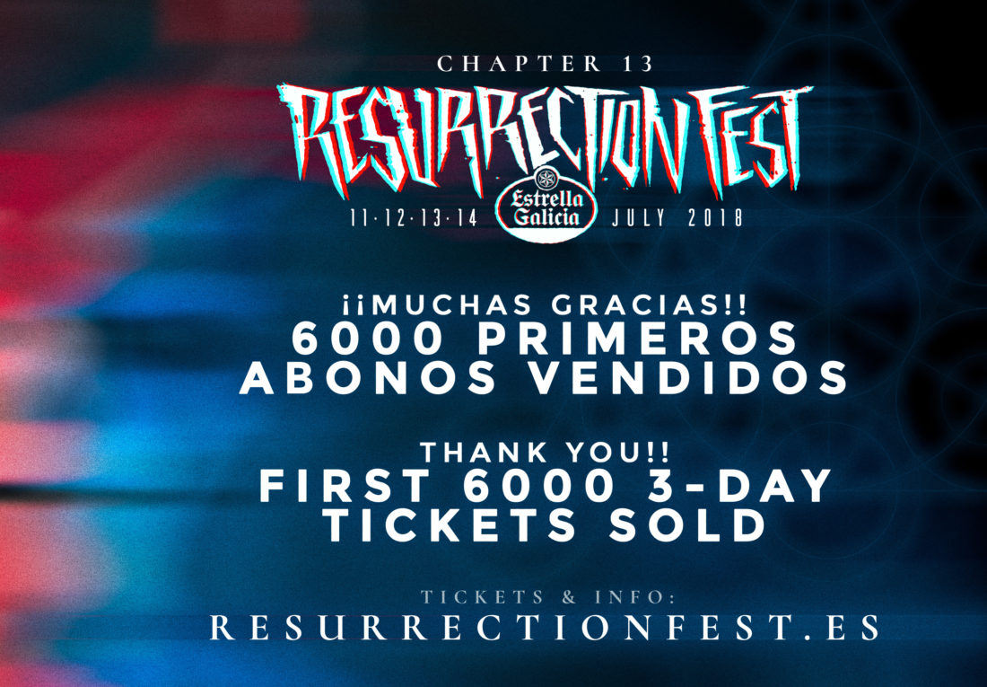More than 6000 tickets sold in 2 hours, thanks!