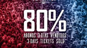 80% de abonos de 3 días vendidos para el Resurrection Fest Estrella Galicia 2018