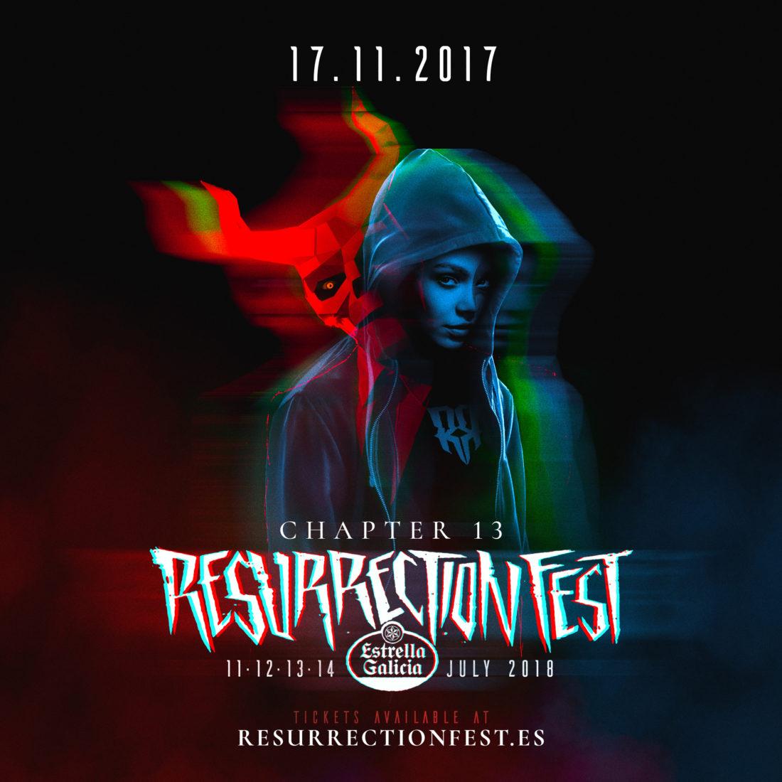 Imaxe oficial do Resurrection Fest Estrella Galicia 2018