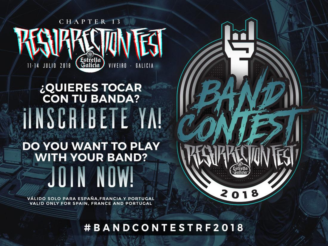 Ya está aquí el Resurrection Fest Estrella Galicia Band Contest 2018