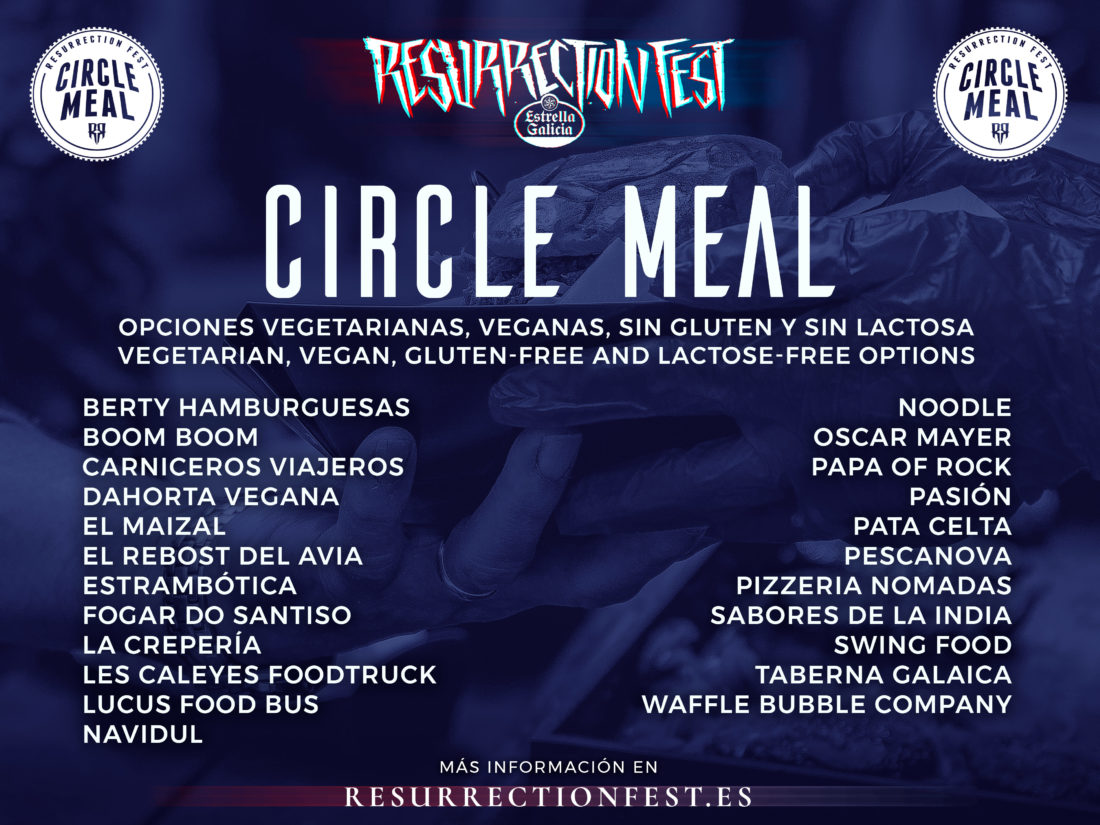 Circle Meal del Resurrection Fest Estrella Galicia 2018