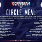 Circle Meal del Resurrection Fest Estrella Galicia 2018
