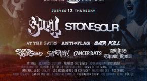 Resurrection Fest Estrella Galicia 2018: poster for Thursday 12th July