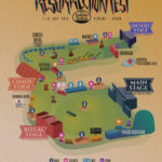 Mapa de la Resurrection Fest City 2018