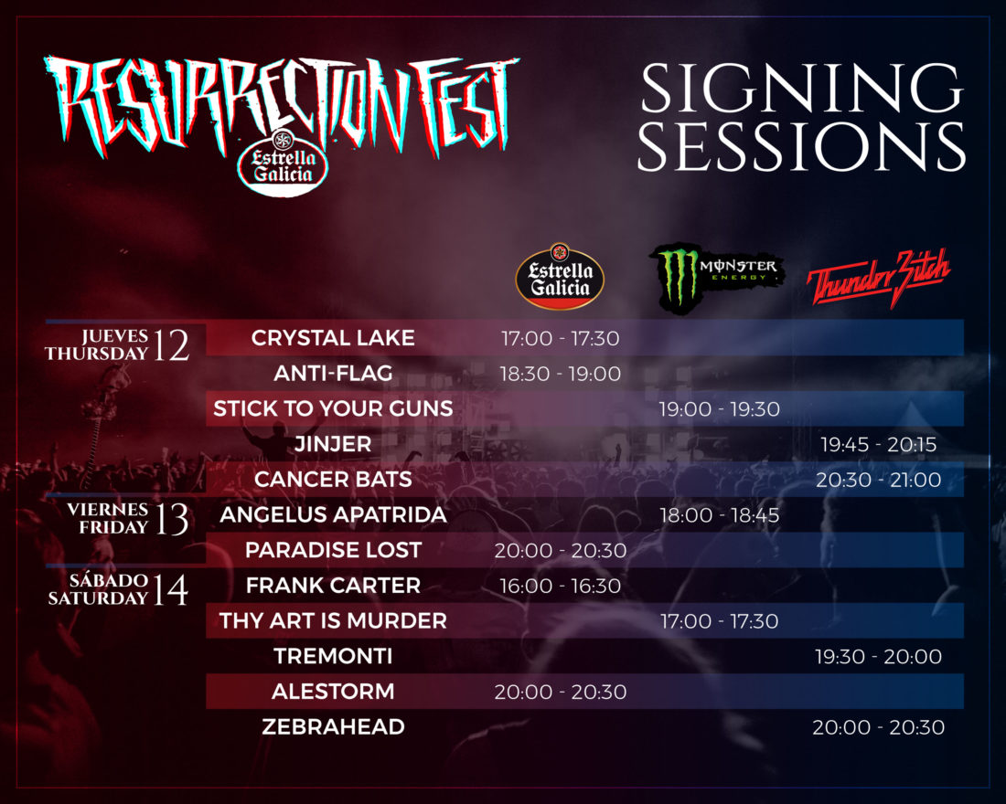 Signing sessions
