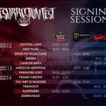 Sesiones de firmas para el Resurrection Fest Estrella Galicia 2018