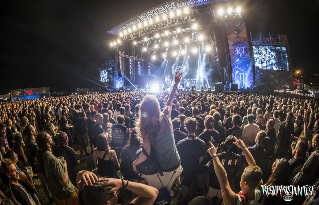 User survey for about Resurrection Fest Estrella Galicia 2018