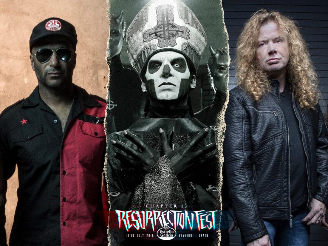 Prophets of Rage, Ghost, Megadeth y más se unen al cartel del Resurrection Fest Estrella Galicia 2018