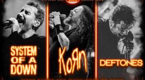 El Resurrection Fest Estrella Galicia 2021 contará con System of a Down, KoRn y Deftones, y nuevas fechas