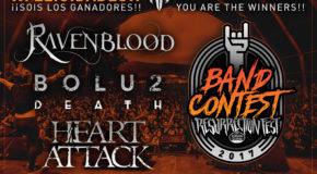 Ganadores de nuestro Resurrection Fest Band Contest 2017