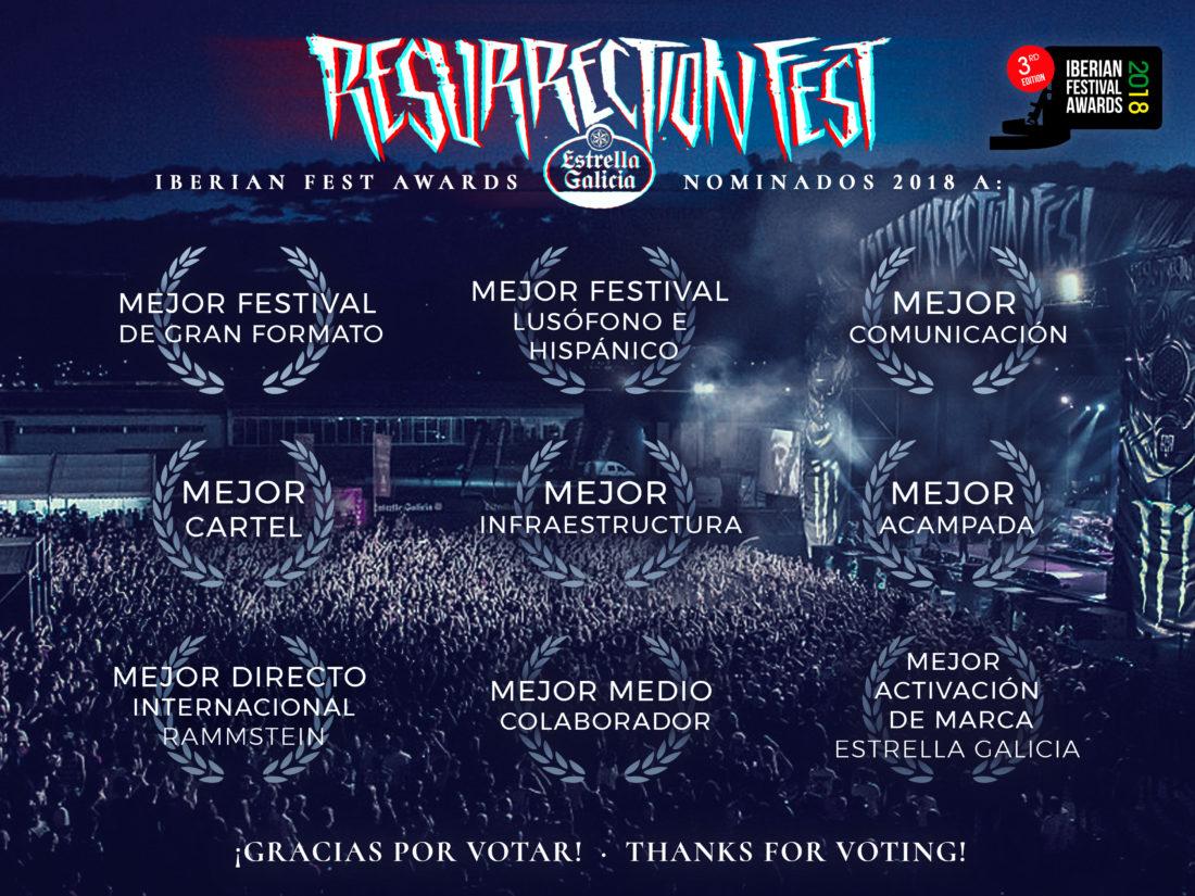 Nominados a 9 categorías de los Iberian Festival Awards 2017