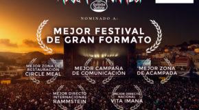 Resurrection Fest Estrella Galicia nominado en 6 categorías de los Premios Fest 2017