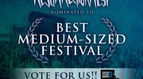 Resurrection Fest nominado a mejor festival de tamaño medio en los European Festival Awards 2016