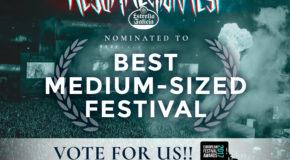 """Resurrection Fest, nominado a """"mejor festival de tamaño medio"""" en los European Festival Awards 2017"""