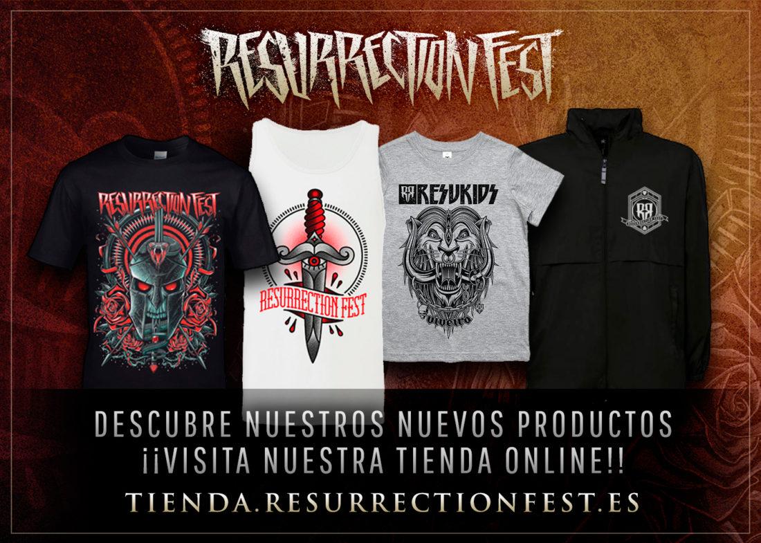 ¡Abrimos la tienda con nuevo merch del Resurrection Fest para 2017!