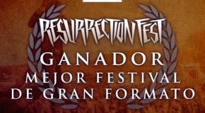 Resurrection Fest, mejor gran festival de España por los Premios Fest 2016