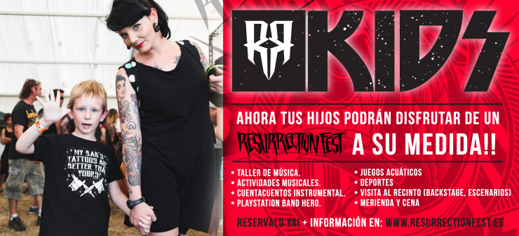 Resurrection Fest'14: Nace el ResuKids...