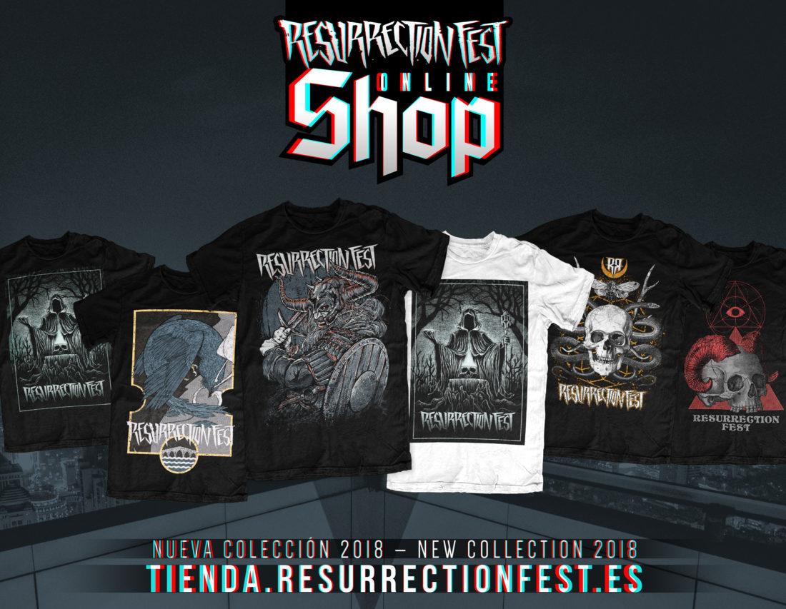 Abrimos la Resurrection Fest Shop, tienda online oficial del festival