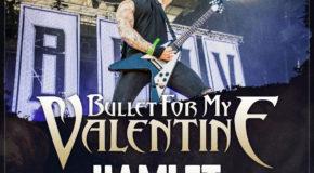 Novos concertos en streaming na nosa Resurrection Fest TV: Bullet For My Valentine, Hamlet e Tesseract
