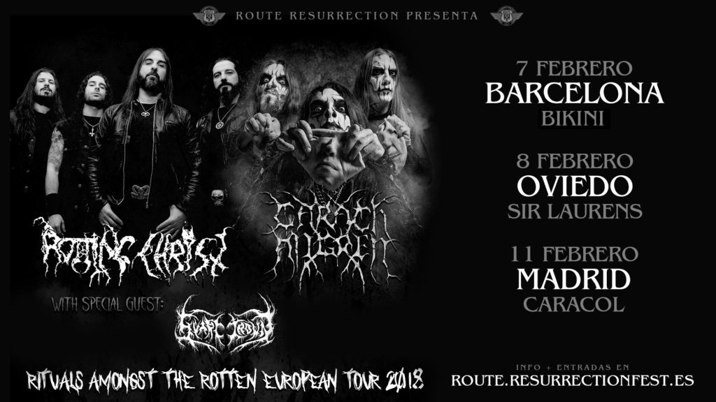 Route Resurrection Fest 2018 - Rotting Christ – Carach Angren - Event