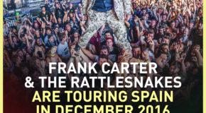 Nuevo Route Resurrection: Frank Carter & The Rattlesnakes en Madrid y Barcelona