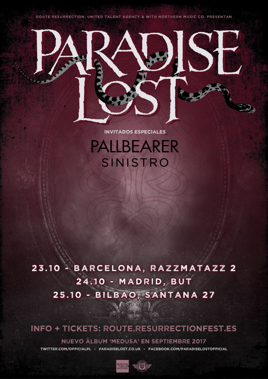 Nueva gira Route Resurrection: Paradise Lost