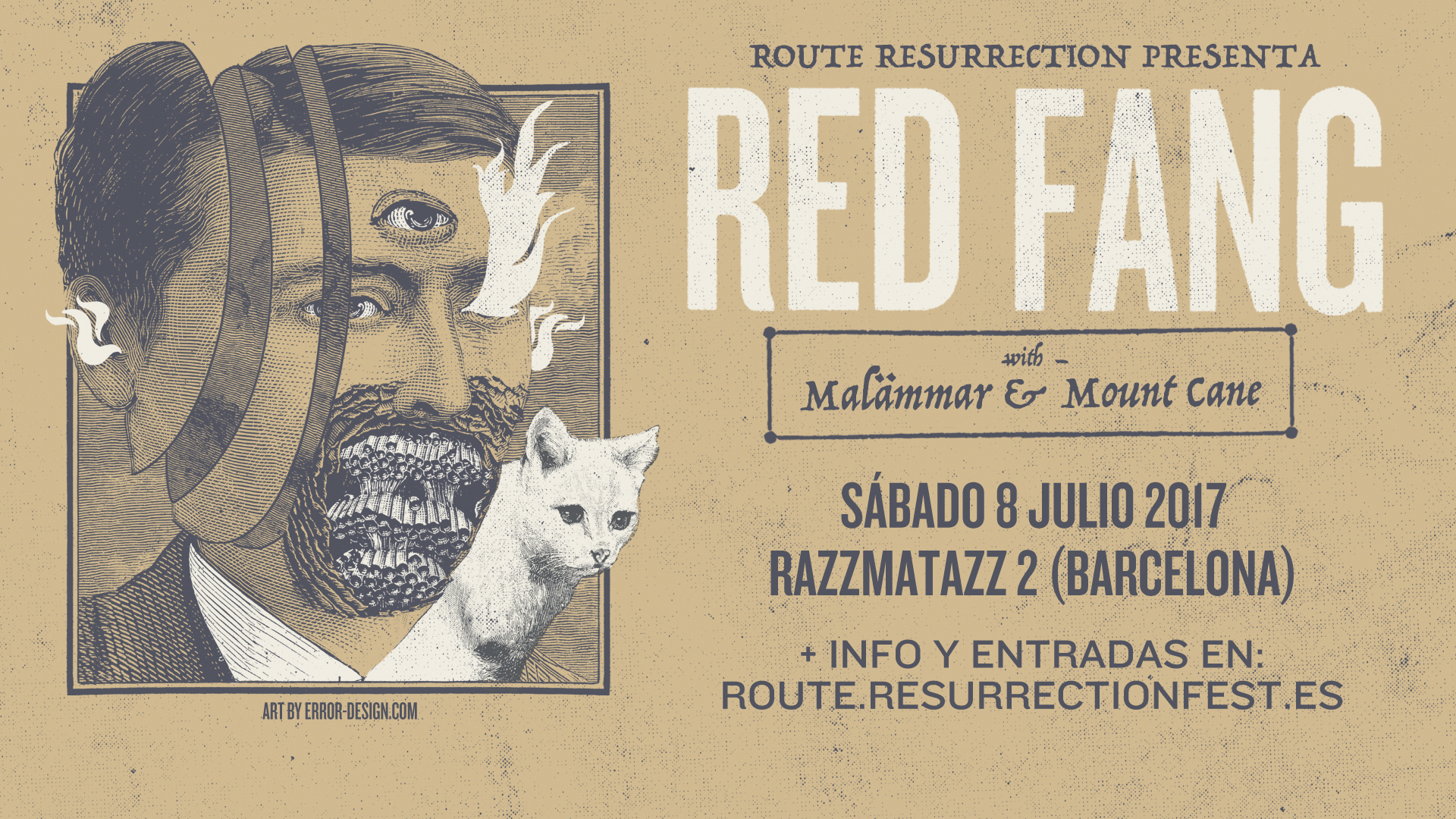 Route Resurrection Fest 2017 - Red Fang - Event
