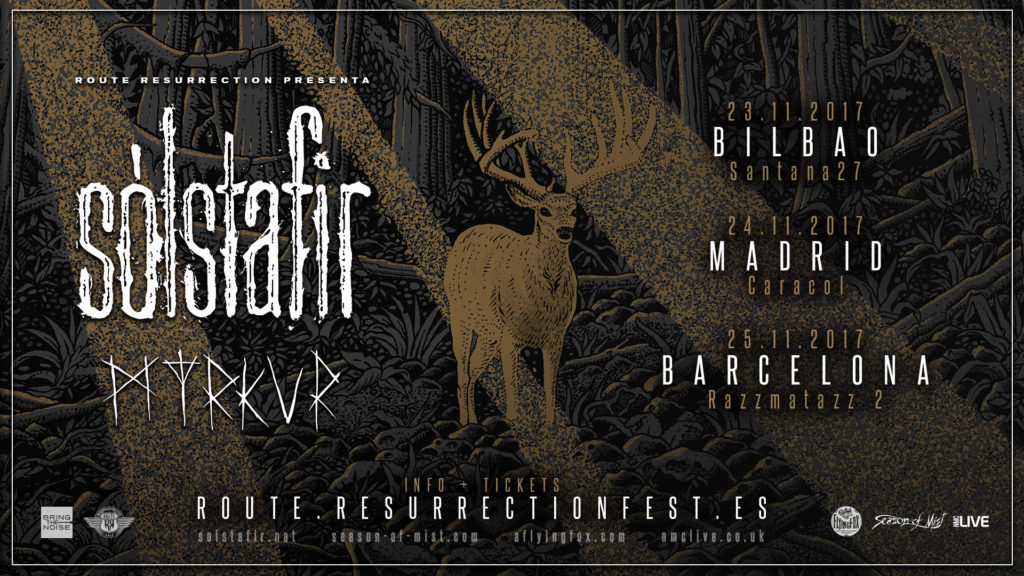 Route Resurrection Fest 2017 - Solstafir - Myrkur- Event